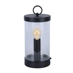 LED lucerna Candlestick 36 cm, černá