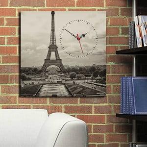 Obrazové hodiny Eiffelovka