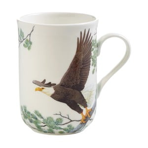 Hrnek z kostního porcelánu Maxwell & Williams Birds Eagles, 330 ml