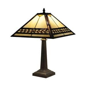 Tiffany stolní lampa Yellow Line