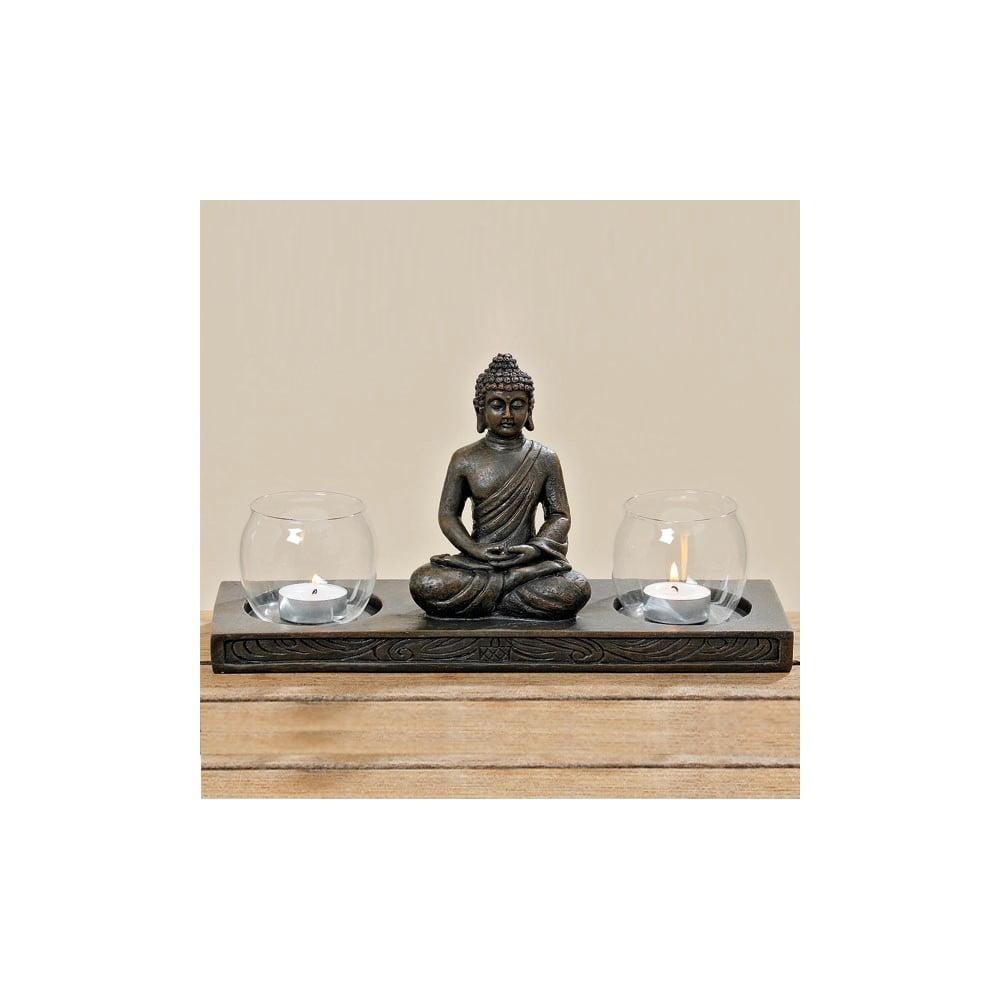 Stojan na svíčky Boltze Buddha