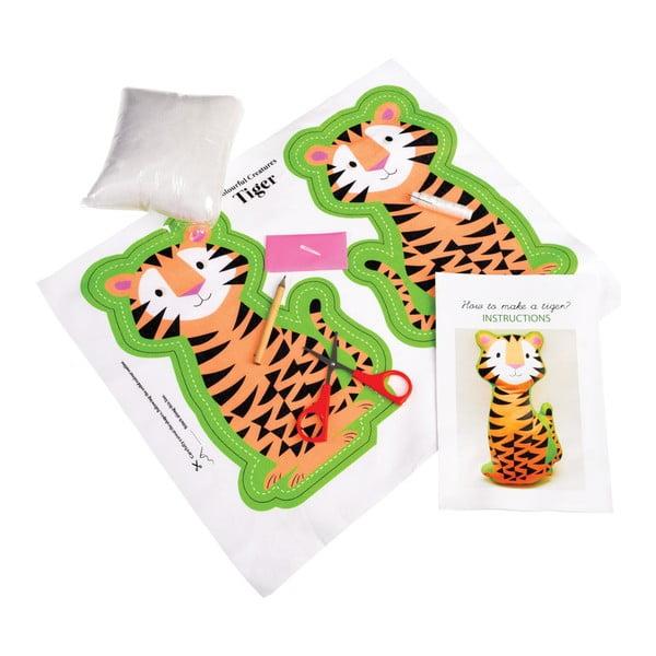 Set na ušití plyšové hračky Rex London Tiger