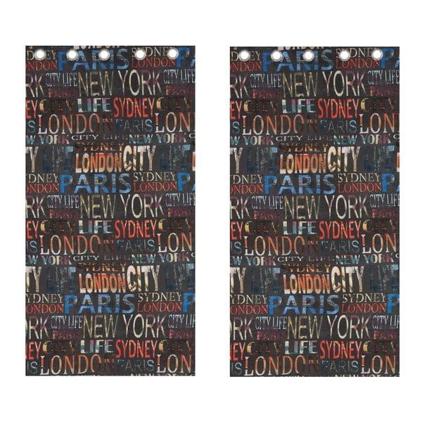 Závěs City Life, 168x183 cm