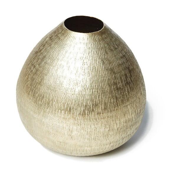 Matt pezsgőszínű váza, ⌀ 25 cm - Simla