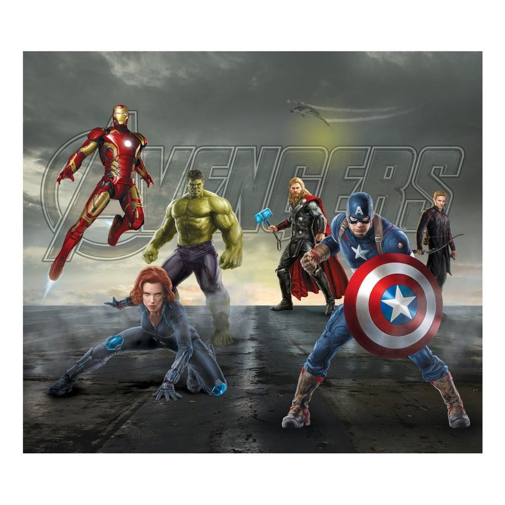 Foto závěs AG Design Avengers II, 160 x 180 cm