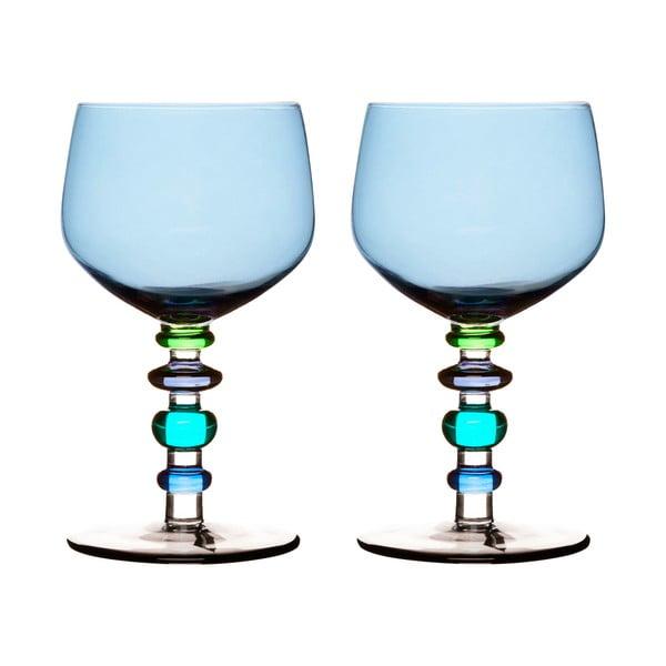 Sklenice na víno Spectra 2 ks, modré