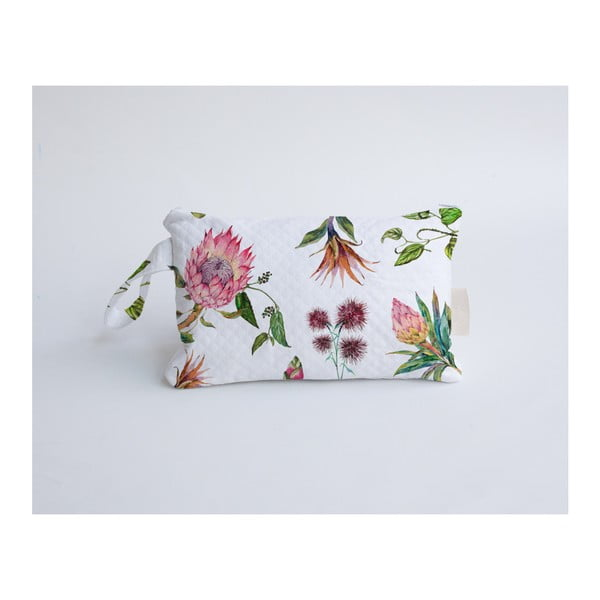 Kosmetyczka z domieszką bawełny Madre Selva Flores Salvajes
