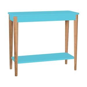 Tyrkysový konzolový stolek Ragaba Ashme, šířka85cm