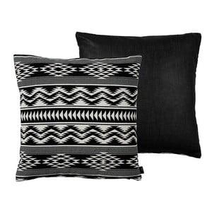 Polštář Kelim Weave Black, 50x50 cm