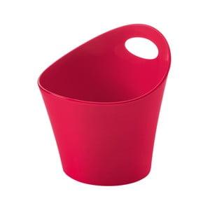 Červená plastová úložná nádoba Koziol Pottichelli, 1,2l