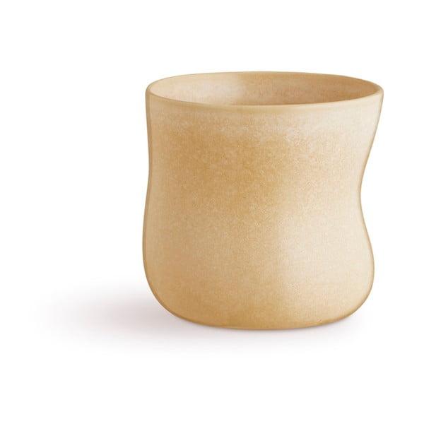 Žltý kameninový hrnček Kähler Design Mano, 300 ml