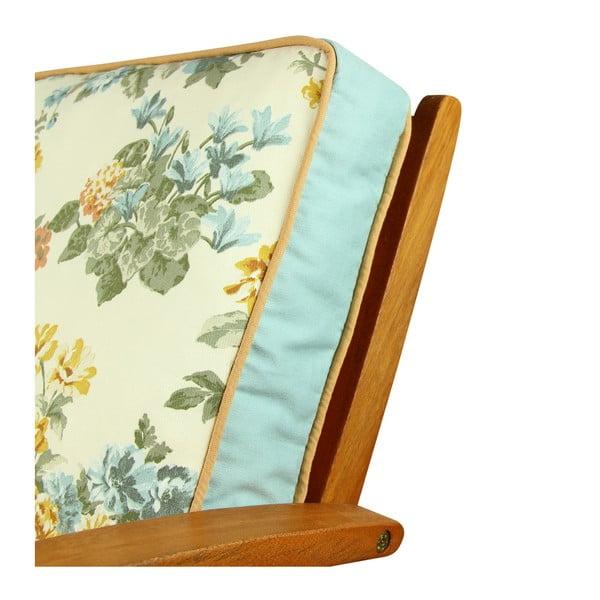 Pernă pentru scaun Gravel Roses, 42x42cm,cuumplutură
