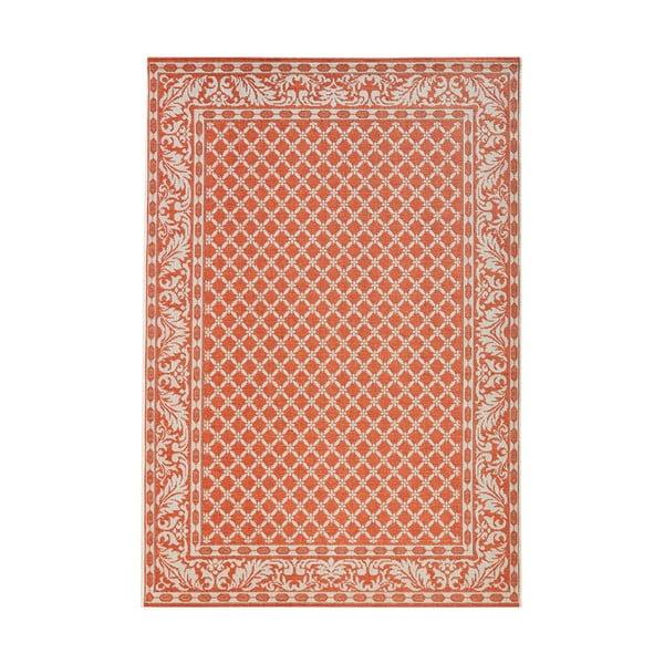 Koberec v terakotovej farbe vhodný aj do exteriéru Royal, 115 × 165 cm