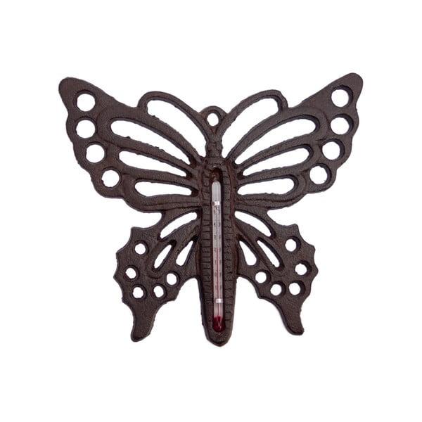 Nástěnný teploměr Butterfly