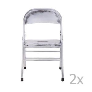 Sada 2 bílých židlí Red Cartel Telma