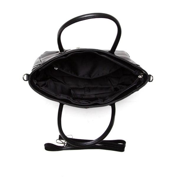 Kožená kabelka Isabella Rhea 1117, černá
