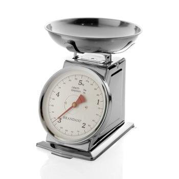 Cântar de bucătărie Brandani, inoxidabil, capacitate încărcare 5 kg