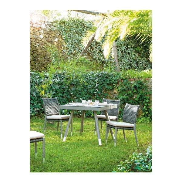 Zahradní jídelní stůl Geese Rusell, 90x90cm