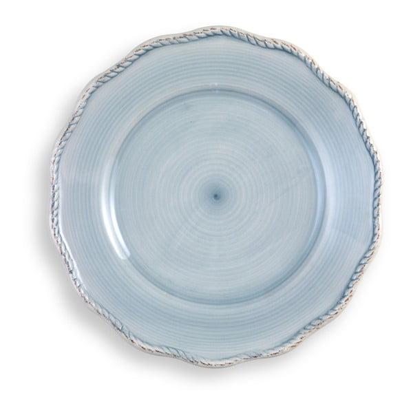 Velký světle modrý talíř Brandani