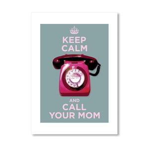 Autorský plakát Call your mom