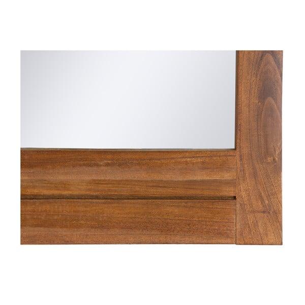 Nástěnné zrcadlo s rámem ze dřeva mindi Santiago Pons Ohio