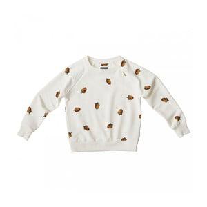 Bluză albă, băieți, Snurk Winternuts, 140