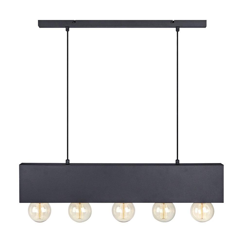 Černé stropní světlo Markslöjd Couture