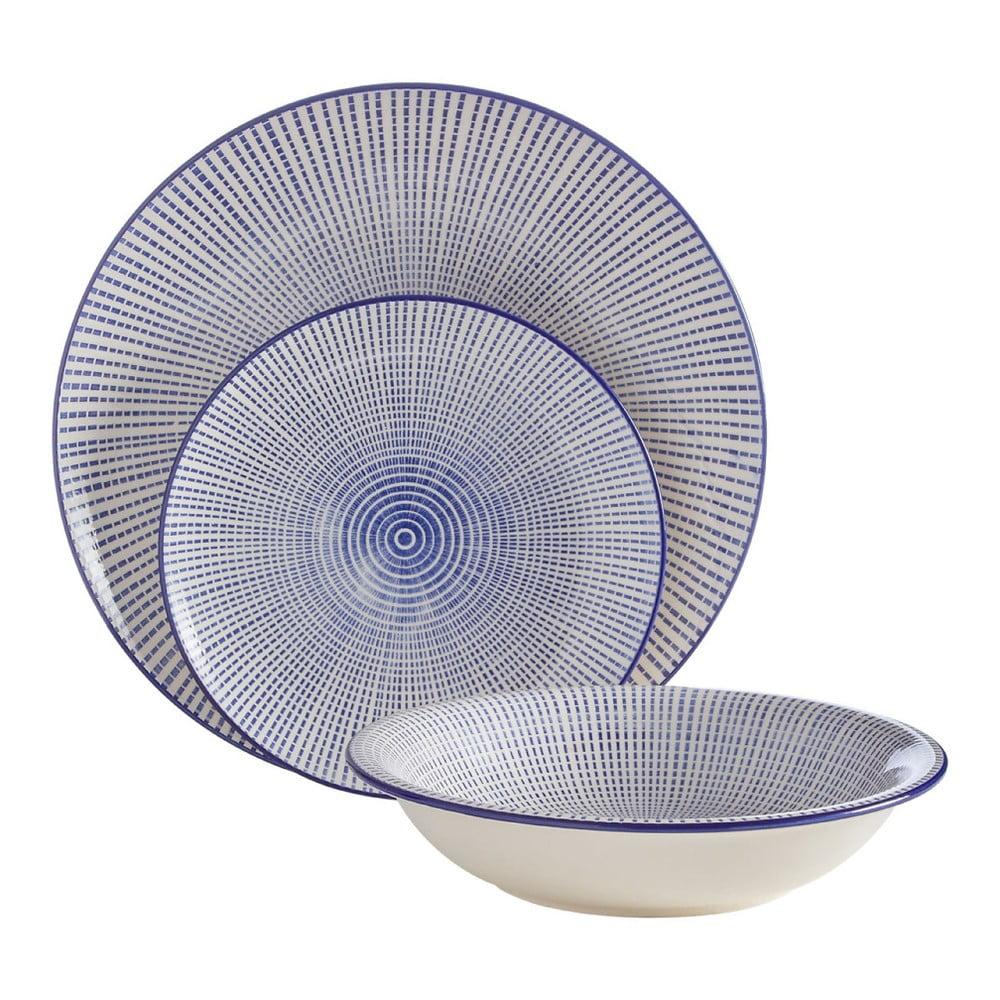 12dílná sada talířů Premier Housewares Maya