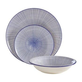 Set 12 farfurii din gresie ceramică Premier Housewares Maya imagine