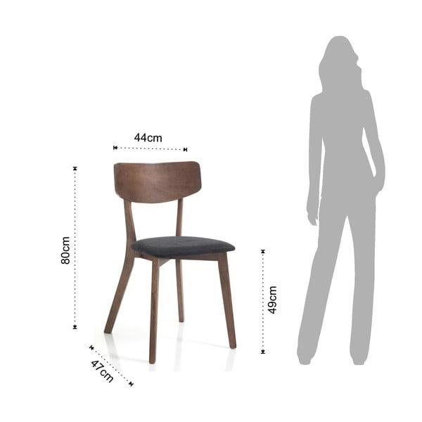 Jídelní židle z ořešákového dřeva Tomasucci Varm