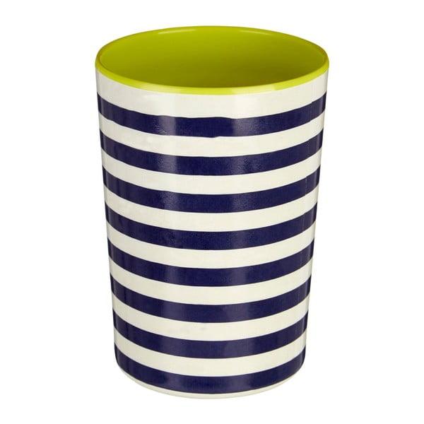 Mimo kék-fehér csíkos konyhai eszköztartó, 340 ml - Premier Housewares