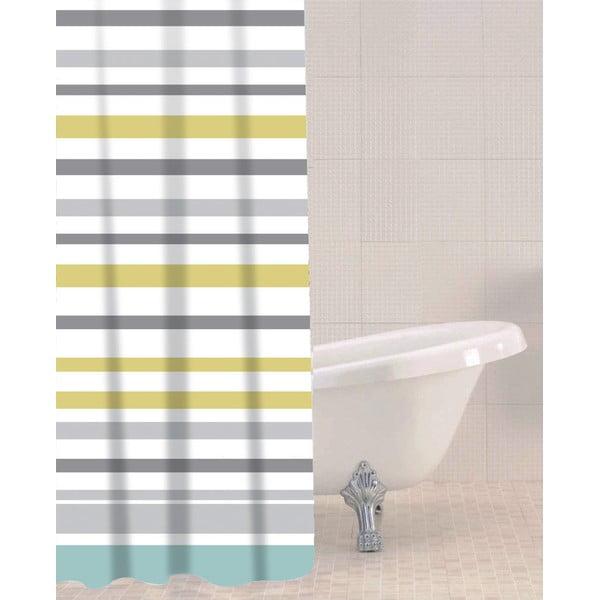 Sprchový závěs Sabichi Sea Stripe, 180x180cm