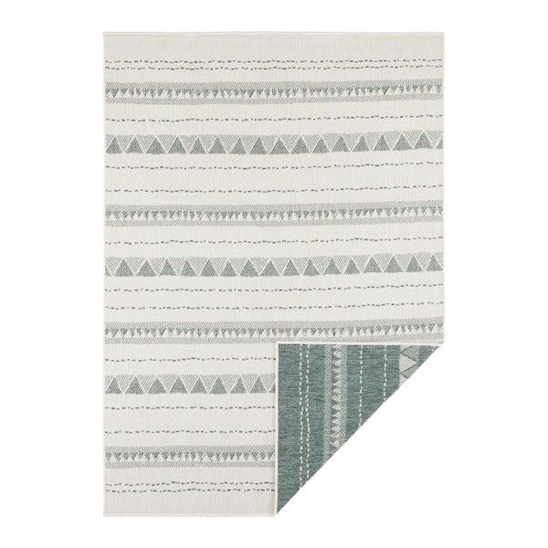 Covor adecvat pentru exterior Bougari Bahamas, 160 x 230 cm, verde-crem