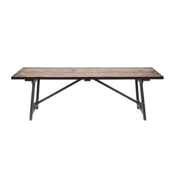 Jedálenský stôl z masívneho borovicového dreva BePureHome Craft, 190 × 90 cm