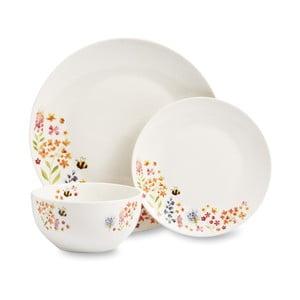 12dílný set nádobí z porcelánu Cooksmart England Bee Happy