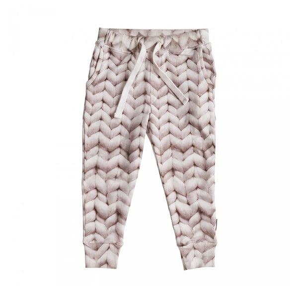 Růžové dívčí kalhoty Snurk Twirre, vel. 128
