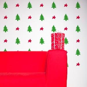 Samolepka Basic Christmas 58x65 cm