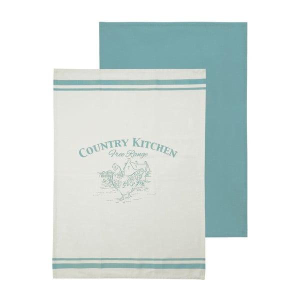 Sada 2 kuchyňských utěrek Premier Housewares Country