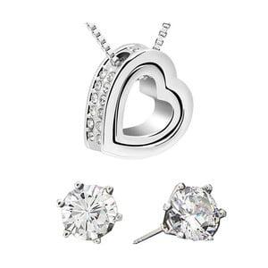 Set náušnic a náhrdelníku Eternity