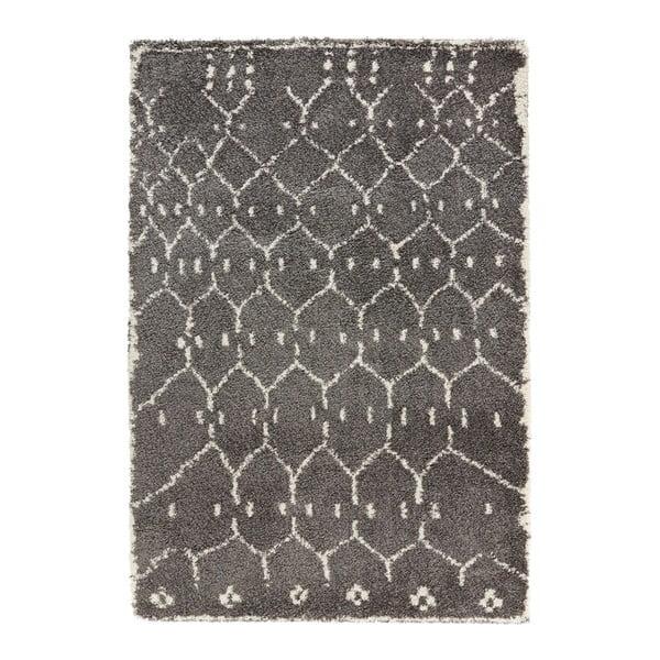 Covor Mint Rugs Allure Ronno Grey, 160 x 230 cm, gri închis