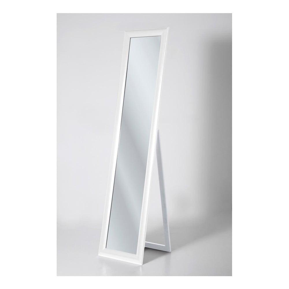 Bílé volně stojící zrcadlo Kare Design Modern Living, výška 170 cm