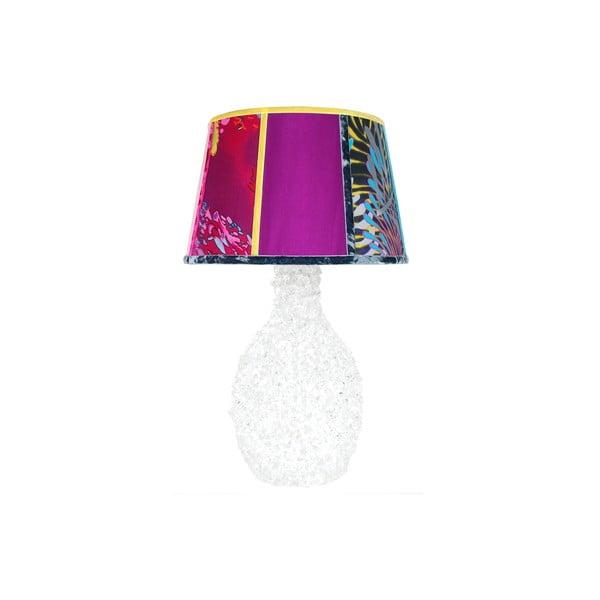 Stolní lampa Crystal Clear Violet