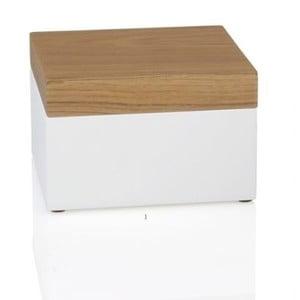 Úložný box White Wood, 15x15x9,5 cm