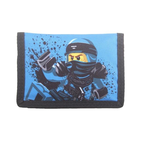 Modrá peněženka LEGO® NINJAGO Jay