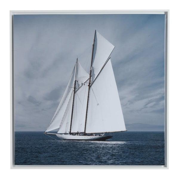 Obraz na plátně Saling Boat, 75x75 cm
