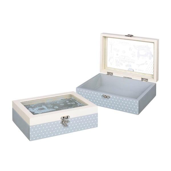 Krabička na šitíčko Sewing Box, 22x17 cm