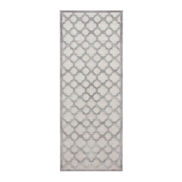 Covor Mint Rugs Shine Mero, 80 x 250 cm, gri