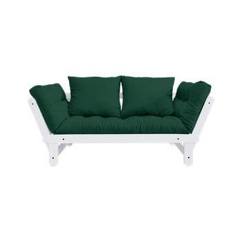 Canapea extensibilă Karup Design Beat White/Forest Green de la Karup Design