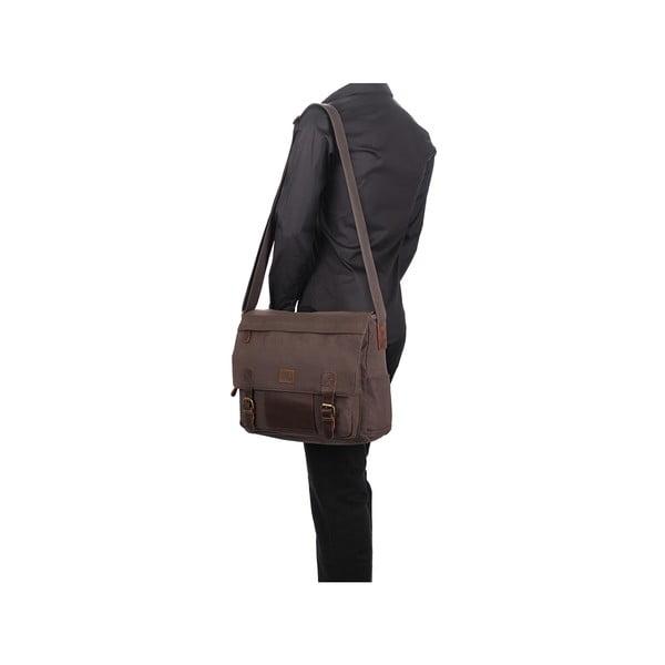 Pánská taška Hoxton Woodland Brown