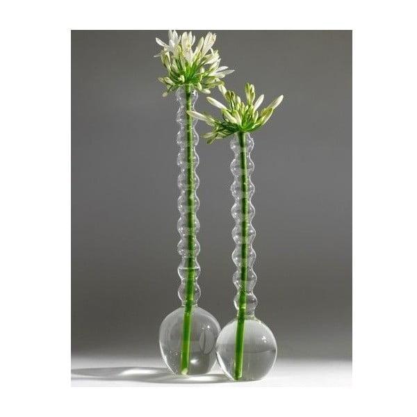 Sada 2 skleněných váz High